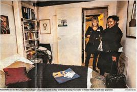 Pia van den Berg (raadslid PvdA Amsterdam) nam de Congolese Nanou voor één nacht mee haar huis.  Luister naar een bijdrage van Martijn de Rijk Verslaggever BNR Nieuwsradio. Pia van den Berg (gemeenteraadslid PvdA) vangt vluchteling op. Luister hier→