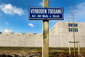 AMSTERDAM - Het nieuwe Justitieel Complex op Schiphol. ANP EVERT ELZINGA